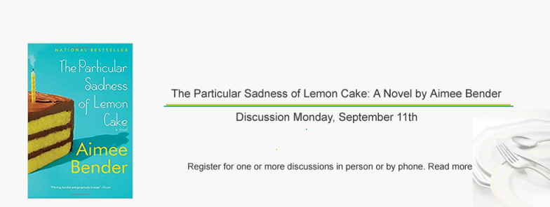 """Fall Book Discussion Series """"For Foodies"""" Starts September 11th"""