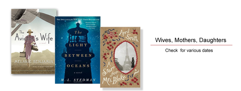 Winter 2016 Book Discussions