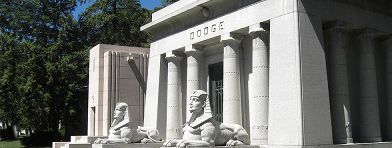 Woodlawn Cemetery: A Michigan 20th Century Outdoor Museum: May 24th
