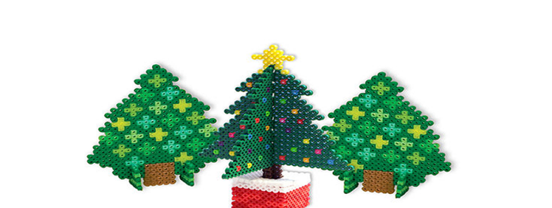 3-D Pixel Art Ornaments for Ages 8-15: Wednesday, November 29th