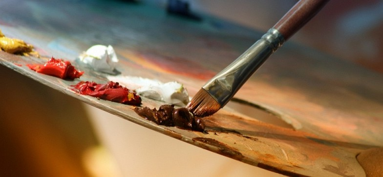 Painting with Bob Ross: Thursday, June 21 2:00 pm (For 6th-12th Graders)