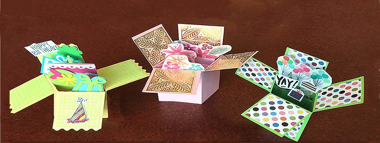 Crafts for Adults: Pop Up Box Cards!: August 8th