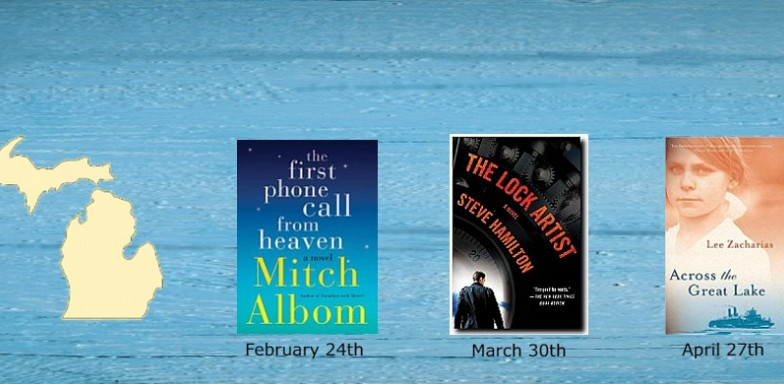 Winter Book Discussion Series Starts February 24th-Made in Michigan-Great Lakes Fiction A to Z