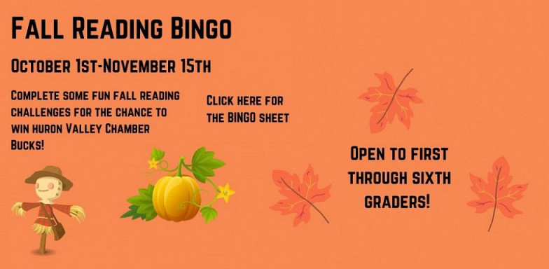 Fall Reading BINGO