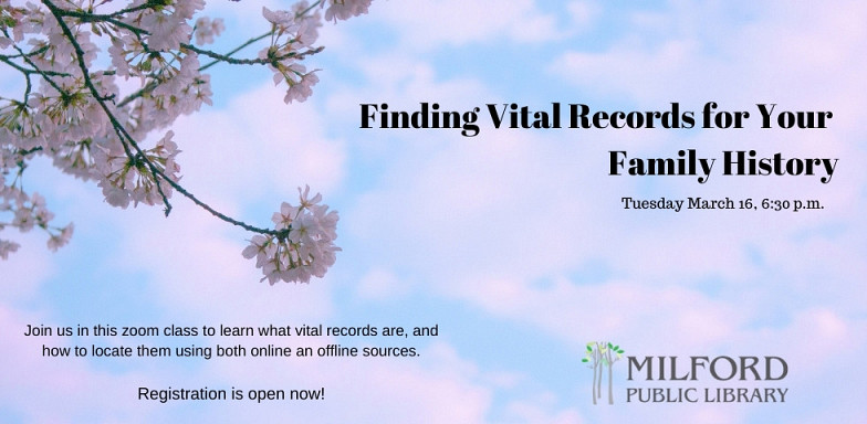 Finding Vital Records