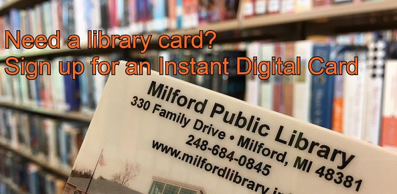 Sign Up for an Instant Digital Library Card