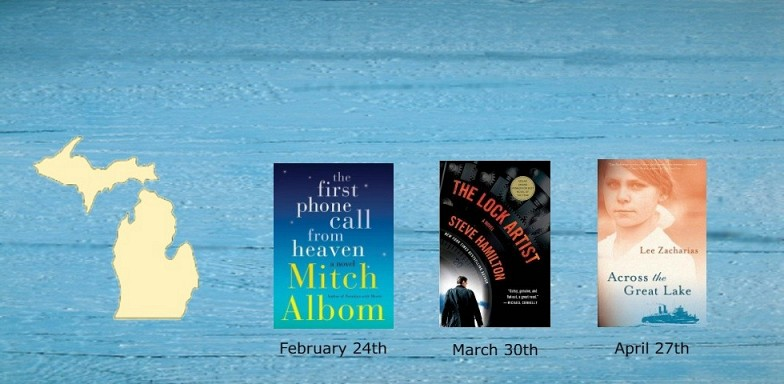Winter Book Discussion Starts February 24th-Made in Michigan-Great Lakes Fiction A to Z