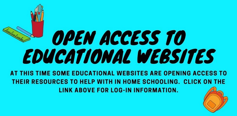 NEWSFLASH: Educational Companies Open Resources
